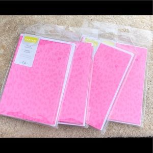 Set of 4 packs (40 cards) Pink Cheetah Note Cards